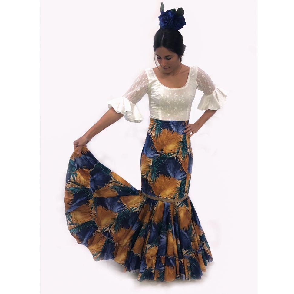 5ff958745 Falda flamenca - Modelo Ana Canastera