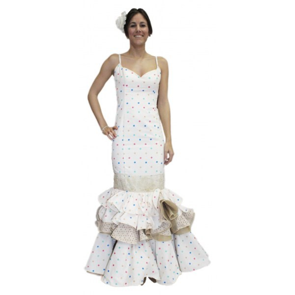7ce9d2aae Vestido de flamenca - Modelo Jaén